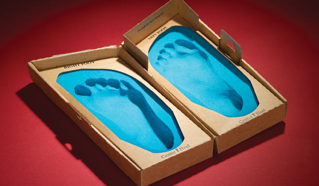 footprinter foam box